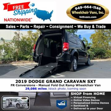 2012 Dodge Grand Caravan for sale at Wheelchair Vans Inc - New and Used in Laguna Hills CA