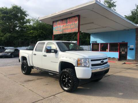 2007 Chevrolet Silverado 1500 for sale at Global Auto Sales and Service in Nashville TN