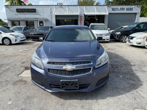 2013 Chevrolet Malibu for sale at America Auto Wholesale Inc in Miami FL