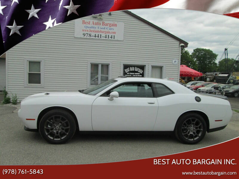 2018 Dodge Challenger for sale at BEST AUTO BARGAIN inc. in Lowell MA