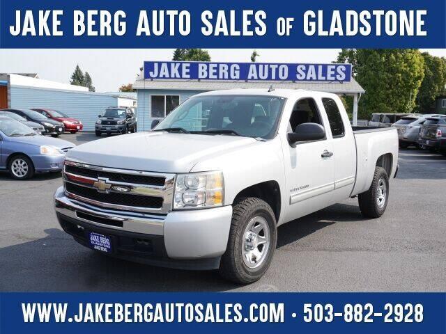 2010 Chevrolet Silverado 1500 for sale at Jake Berg Auto Sales in Gladstone OR