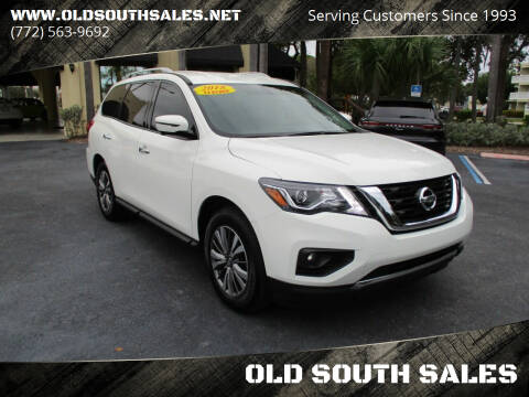 2018 Nissan Pathfinder for sale at OLD SOUTH SALES in Vero Beach FL
