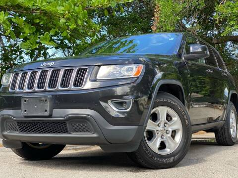 2014 Jeep Grand Cherokee for sale at HIGH PERFORMANCE MOTORS in Hollywood FL