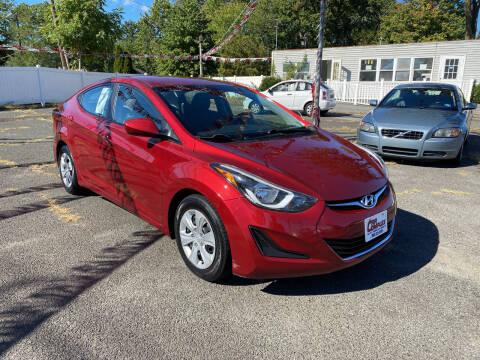 2016 Hyundai Elantra for sale at Car Complex in Linden NJ