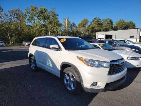 2015 Toyota Highlander for sale at Chantz Scott Kia in Kingsport TN