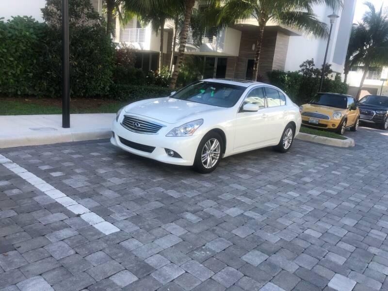 2013 Infiniti G37 Sedan for sale at CARSTRADA in Hollywood FL