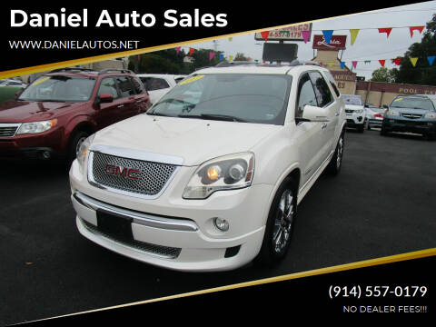 2012 GMC Acadia for sale at Daniel Auto Sales in Yonkers NY