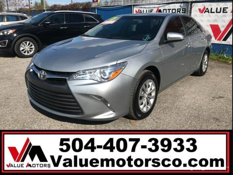 2017 Toyota Camry for sale at Value Motors Company in Marrero LA