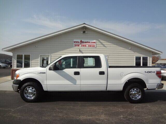 2013 Ford F-150 for sale at GIBB'S 10 SALES LLC in New York Mills MN