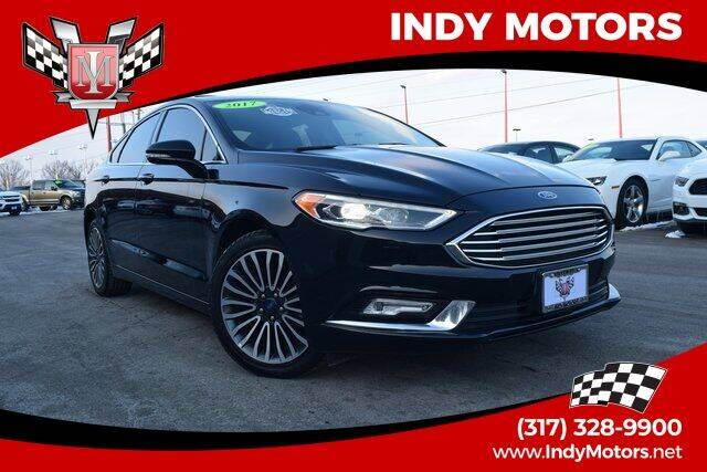 2017 Ford Fusion for sale at Indy Motors Inc in Indianapolis IN