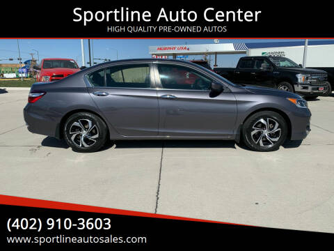2017 Honda Accord for sale at Sportline Auto Center in Columbus NE
