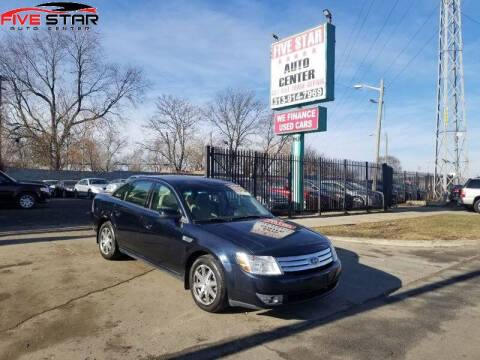 2008 Ford Taurus for sale at Five Star Auto Center in Detroit MI