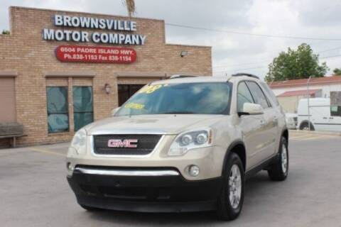 2008 GMC Acadia for sale at Brownsville Motor Company in Brownsville TX