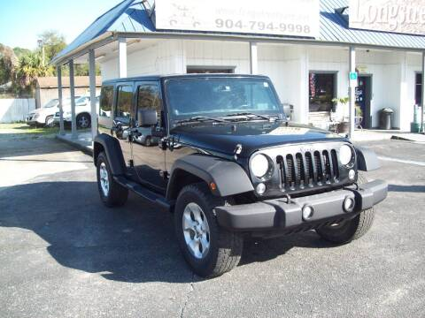2014 Jeep Wrangler Unlimited for sale at LONGSTREET AUTO in St Augustine FL