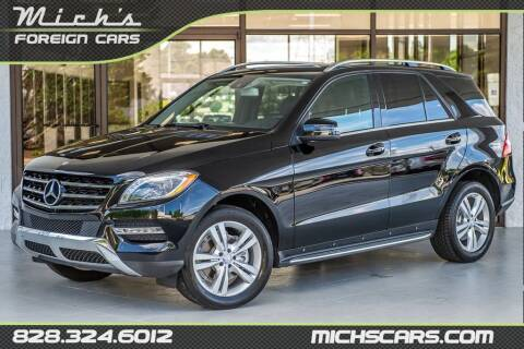 2013 Mercedes-Benz M-Class for sale at Mich's Foreign Cars in Hickory NC