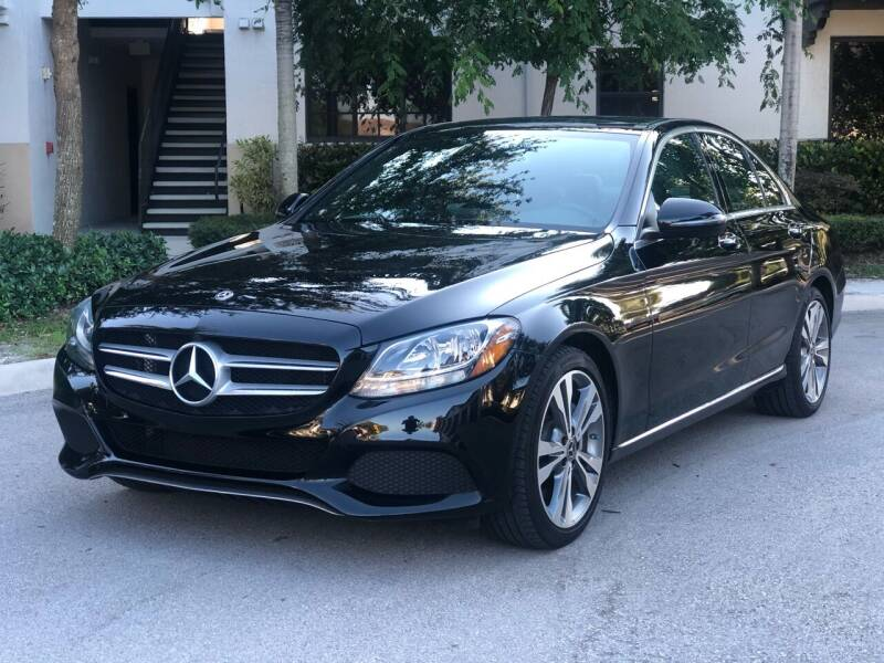 2018 Mercedes-Benz C-Class for sale at CAR UZD in Miami FL