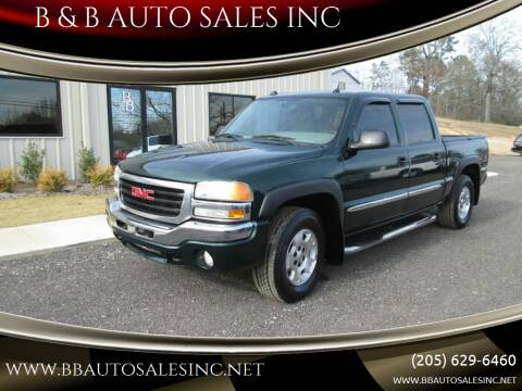 2004 GMC Sierra 1500 for sale at B & B AUTO SALES INC in Odenville AL