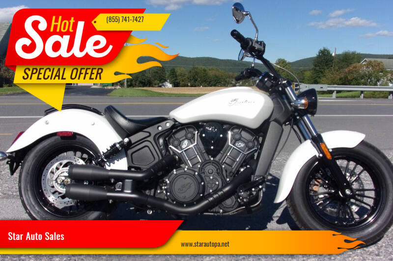 2019 Indian SCOUT ABS for sale at Star Auto Sales in Fayetteville PA