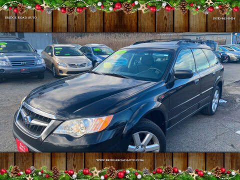2009 Subaru Outback for sale at Bridge Road Auto in Salisbury MA