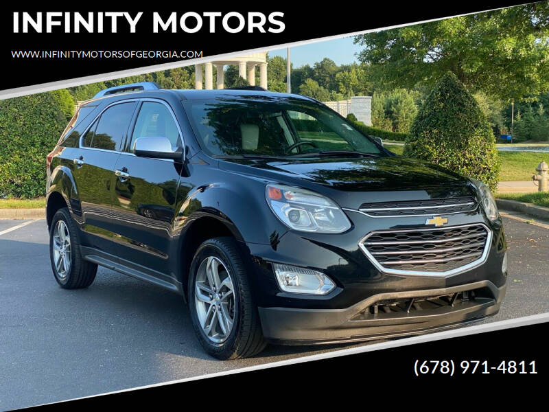 2016 Chevrolet Equinox for sale at INFINITY MOTORS in Gainesville GA