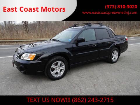 2006 Subaru Baja for sale at East Coast Motors in Lake Hopatcong NJ