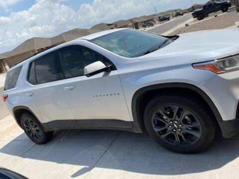 2019 Chevrolet Traverse for sale at STANLEY FORD ANDREWS in Andrews TX
