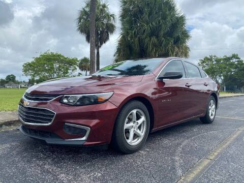 2016 Chevrolet Malibu for sale at Lamberti Auto Collection in Plantation FL