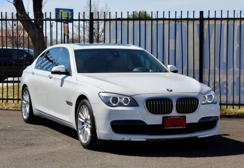 2013 BMW 7 Series for sale at Avanesyan Motors in Orem UT