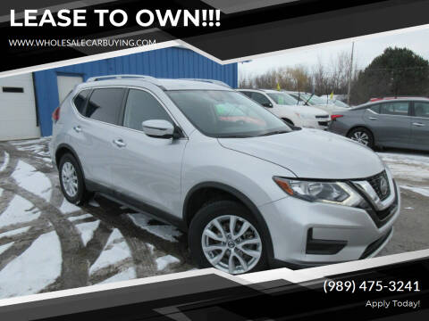 2020 Nissan Rogue for sale at Wholesale Car Buying in Saginaw MI