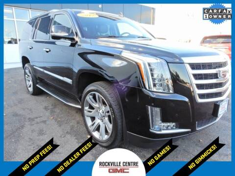 2017 Cadillac Escalade for sale at Rockville Centre GMC in Rockville Centre NY