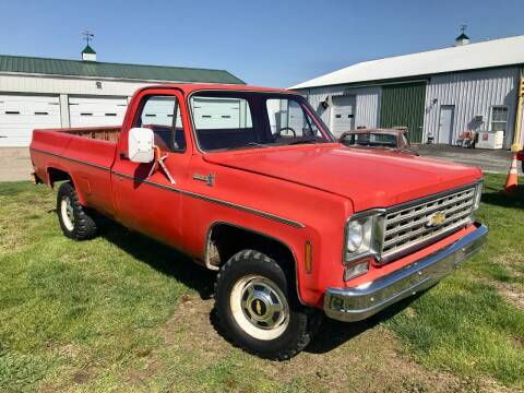 1976 Chevrolet C/K 20 Series for sale at 500 CLASSIC AUTO SALES in Knightstown IN