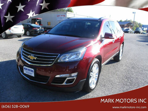 2015 Chevrolet Traverse for sale at Mark Motors Inc in Gray KY