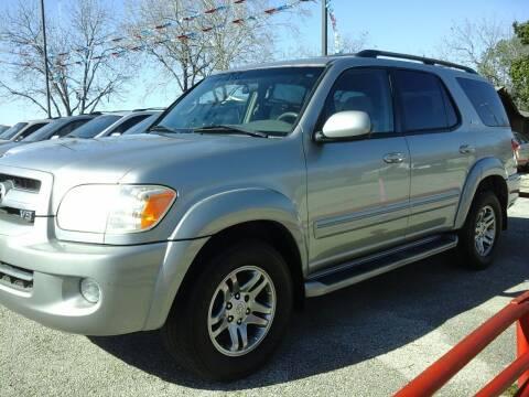 2007 Toyota Sequoia for sale at John 3:16 Motors in San Antonio TX