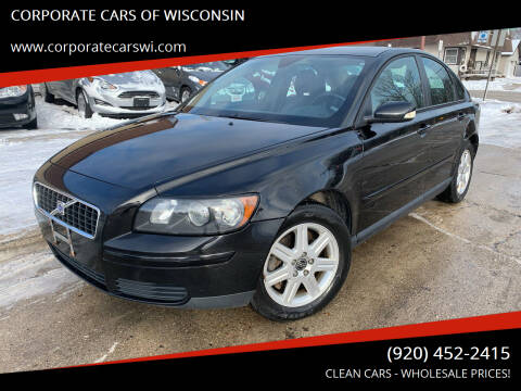 2006 Volvo S40 for sale at CORPORATE CARS OF WISCONSIN - DAVES AUTO SALES OF SHEBOYGAN in Sheboygan WI