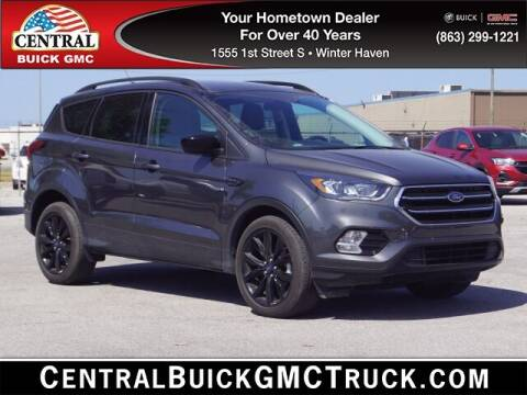 2019 Ford Escape for sale at Central Buick GMC in Winter Haven FL