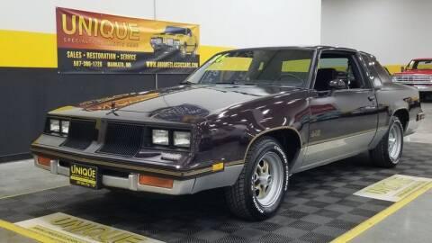 1986 Oldsmobile Cutlass Salon for sale at UNIQUE SPECIALTY & CLASSICS in Mankato MN