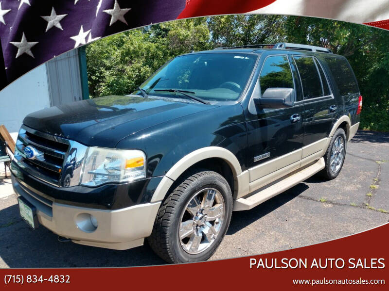 2008 Ford Expedition for sale at Paulson Auto Sales in Chippewa Falls WI