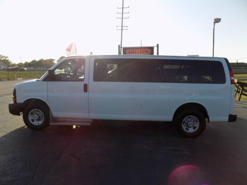 2012 Chevrolet Express Passenger for sale at MYLENBUSCH AUTO SOURCE in O` Fallon MO