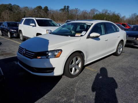 2012 Volkswagen Passat for sale at Fletcher Auto Sales in Augusta GA