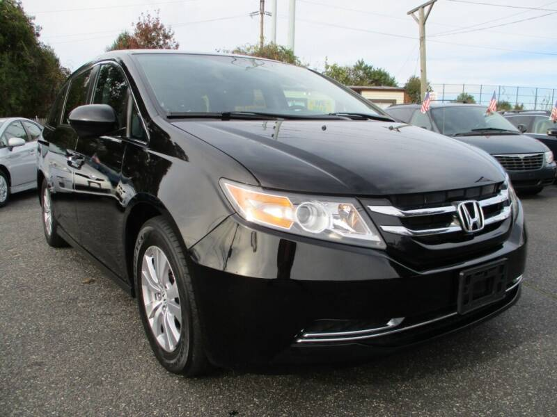 2014 Honda Odyssey for sale at Unlimited Auto Sales Inc. in Mount Sinai NY