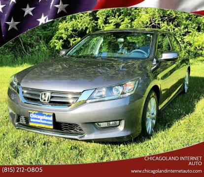 2013 Honda Accord for sale at Chicagoland Internet Auto - 410 N Vine St New Lenox IL, 60451 in New Lenox IL