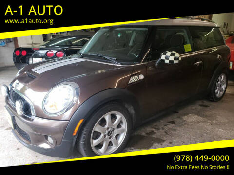 2009 MINI Cooper Clubman for sale at A-1 Auto in Pepperell MA