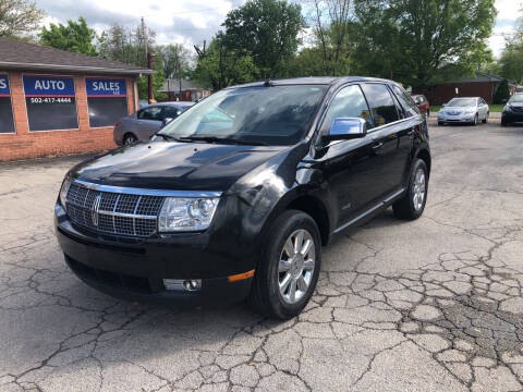 2007 Lincoln MKX for sale at Neals Auto Sales in Louisville KY