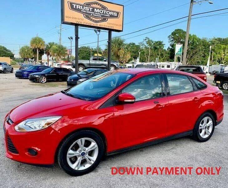 2013 Ford Focus for sale at Trust Motors in Jacksonville FL
