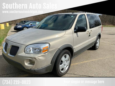 2008 Pontiac Montana for sale at Southern Auto Sales in Clinton MI
