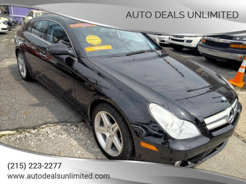 2009 Mercedes-Benz CLS for sale at AUTO DEALS UNLIMITED in Philadelphia PA