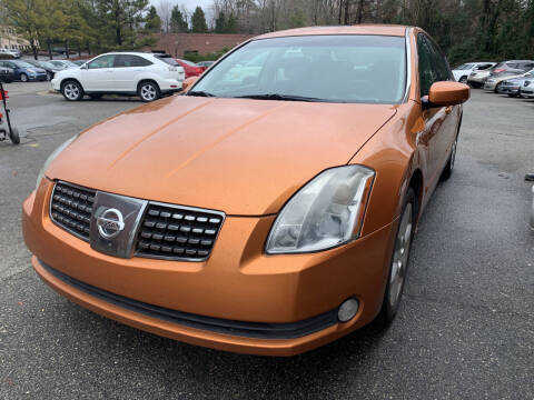 2004 Nissan Maxima for sale at Triangle Motors Inc in Raleigh NC