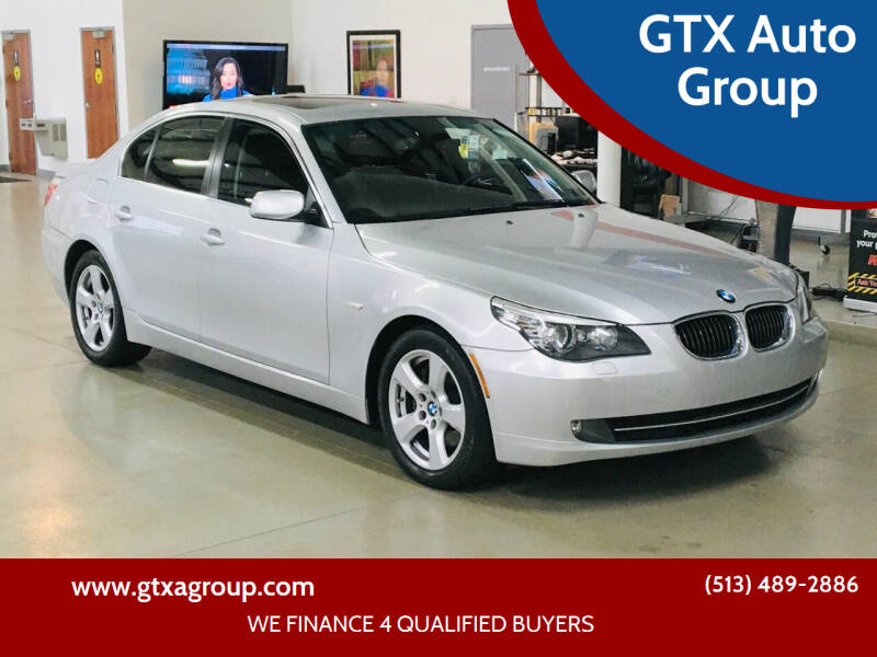 2008 BMW 5 Series for sale at GTX Auto Group in West Chester OH