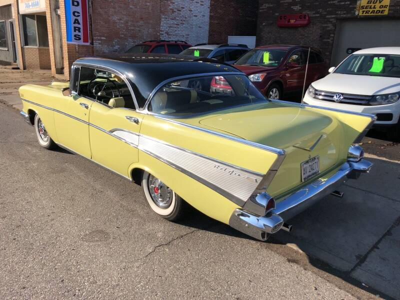 1957 Chevrolet Bel Air for sale at STEEL TOWN PRE OWNED AUTO SALES in Weirton WV