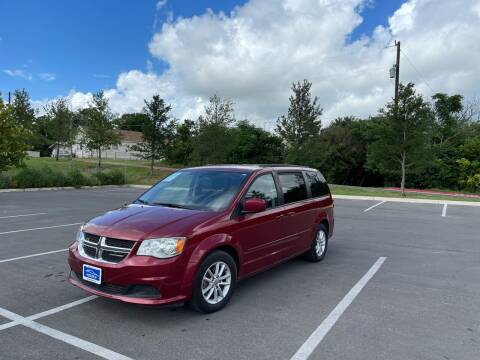 2016 Dodge Grand Caravan for sale at Hatimi Auto LLC in Buda TX
